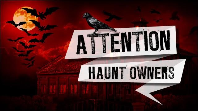 Attention South Carolina Haunt Owners